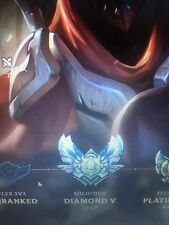 league of legends diamond account NA