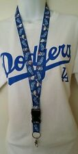 Los Angeles Dodgers Hello Kitty  Lanyard Keychain Keyring MLB LA New