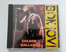 Bon Jovi Golden Ballads Rare CD Album Halahup Records HAL026