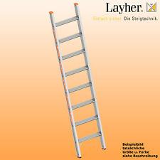 Layher Alu Stufenanlegeleiter,  Leiter 8 Stufen,  L=2,05m,Topic Typ 1042.008