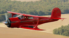 BEECHCRAFT G17 PLANS 1/4 SCALE FOR PETROL ENGINE