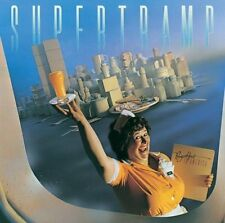 Supertramp - Breakfast In America -- Mini Poster & Black Card Frame