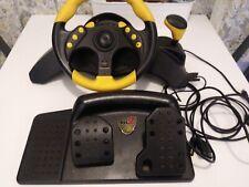 Mad Catz Universal MC2 Racing Wheel - Gamecube - Ps2 - Xbox - Tested