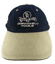 Cornwell Tools Logo Baseball Style Hat Cap Black & Beige (Paint Smear)