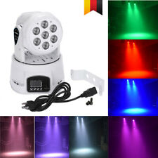 Mini DMX512 Moving Head RGBW LED Bühne Licht Party Bühnenbeleuchtung 9/14 Kanal