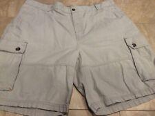 Outdoor Life Mens Explorer Cargo Shorts Size 42 Khaki