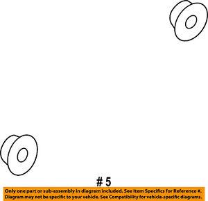 CHRYSLER OEM-Grille Nut 6508886AA
