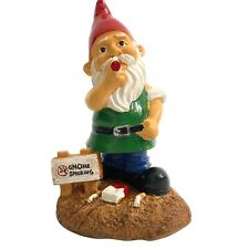 Smoking Garden Gnomes Nude Gnome Figurines Funny Naughty Gnome Statues Christmas
