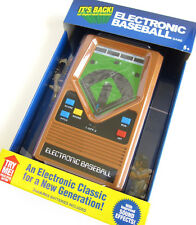 ELECTRONIC BASEBALL classic1970's  handheld pocket travel portable video game