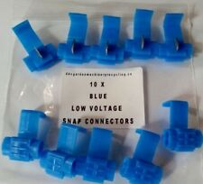 scotch block connectors X10 blue auto wire stripping great for towbar fitting