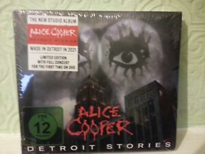 ALICE COOPER -  Detroit Stories (DELUXE CD/ DVD SEALED) CHEAPEST £11.99 Freepost