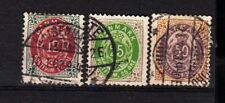 Denmark Stamps, 12/25/50 Ore, Used,
