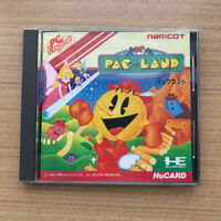 NEC PC Engine game software PAC LAND HuCARD PCE Namucot Used from Japan