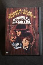 McCabe & Mrs. Miller (DVD, 2002) Julie Christie & Warren Beatty