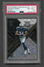 2016 PANINI ELITE DERRICK HENRY BLACK RC #D 106/199 NM-MT+ PSA 8.5