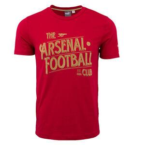 Puma Men's Arsenal Graphic T Shirt Red 747488 14
