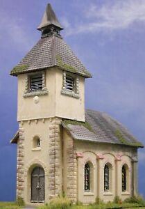 Diorama H0/1:87 Gebäude Pola Kirche Kapelle gealtert#patiniert aus Potsdam😍