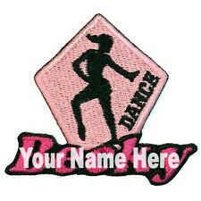 Dance Custom Iron-on Patch Personalized
