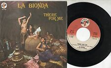 LA BIONDA disco 45 g. STAMPA ITALIANA One for you one for me 1979 MADE in ITALY