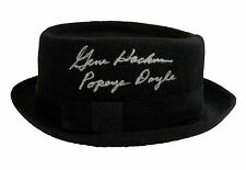 """Gene Hackman """"Popeye Doyle"""" French Connection Autographed Porkpie Hat ASI Proof"""