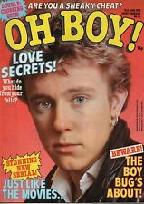 Oh Boy! Magazine 10 June 1978 No.81     Gary Tibbs of The Vibrators    Andy Gibb