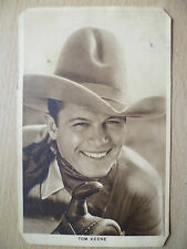 Vintage Film Star Postcard- TOM KEENE