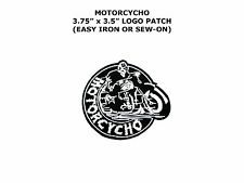 Motorcycho Out Law Gang Harley Chopper Biker Rider Motorcycle Vest Patch Iron on