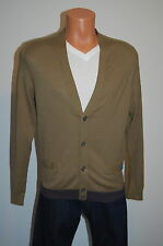New $228 Marc by Marc Jacobs Olive Green Cardigan Sweater sz Large L Lightweight