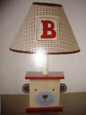 New CoCaLo Buttons Bear Lamp Base & Shade