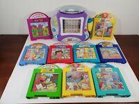 2004 Mattel Learn Through Music PLUS! W/ 9 Cartridges Tested Disney Dora Elmo