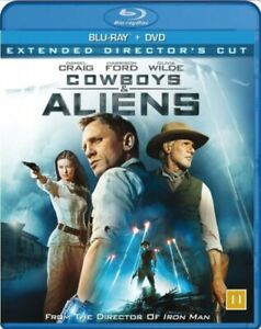Cowboys and Aliens (Extended Directors Cut) Blu Ray + DVD