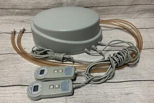 Select Comfort Sleep Number Dual Air Hose Pump Model UFCS4-2 Includes 2 Remotes