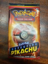 Detective Pikachu - Movie Promo 2 Card Pack Booster Pack - Exclusive Sealed