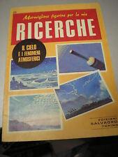 FIGURINE RICERCHE SALVADEO n. 26 IL CIELO E I FENOMENI ATMOSFERICI, 1979