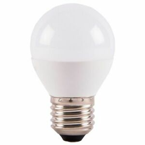 GE 6w Opal LED Golf Ball Bulb - ES / 2700k - Extra Warm White (Dimmable)