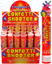 Handheld Confetti Shooter Cannons Poppers Foil Streamer Wedding Party 20cm MULTI