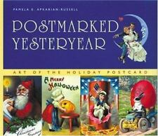 Postmarked Yesteryear Art of the Holiday Postcard Card Book 2001 Paperback