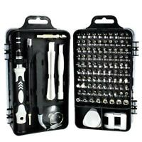 115 in 1 Magnetic Precision Screwdriver Set Repair Kit Disassembly Multitool New