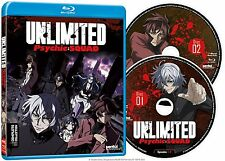 Unlimited Psychic Squad . The Complete Series Collection . Anime . 2 Blu-ray NEU