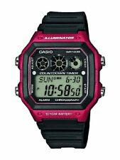 Casio Men's Collection Digital Watch with Resin Strap AE-1300WH-4AVEF