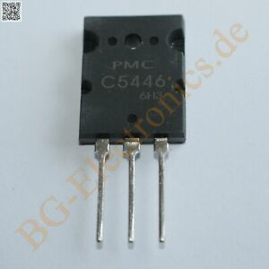 1 x 2SC5446 NPN Power Transistor 200W 15A 600V  PMC 2-21F2A 1pcs