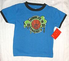 Nuevo Nike 2 AÑOS AZUL baloncesto camiseta top NIÑOS ORIGINAL