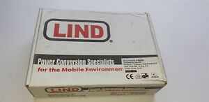 Lind Electronics Model PA1555-877 Input 12-32 Vdc, 15Amp Output 15V 5.5A New
