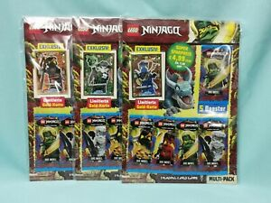Lego® Ninjago™ Serie 6 Die Insel Trading Card alle 3 Multipack mit LE6 LE15 LE19