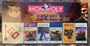 MONOPOLY PIRATES OF THE CARIBBEAN TRILOGY EDITION - New In Box Factory Sealed