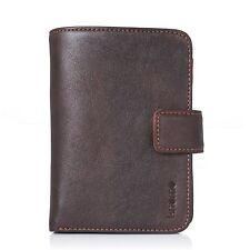 Knomo Genuine Leather Wallet and Case for iPhone 4 / 4S - Brown