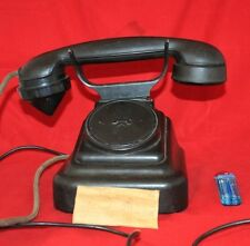 Antique vintage PHONE 1950 BAKELITE ORIGINAL made in USSR Soviet Russian