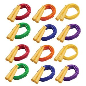 CHAMPION SPORTS SPR8-12 (12 EA) SPEED ROPE 8FT YELLOW