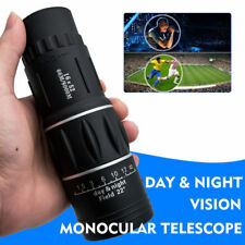 Telescope Day & Night Vision 16x52 HD Optical Monocular Hunting Camping Hiking