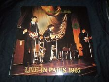 LP  The Beatles  Live In Paris 1965  2 LPs  Genuine Swingin Pig Disc